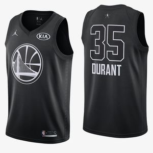 762adc927a5d Nike Shirts - DURANT WARRIORS Mens All-Star Basketball Jersey XL